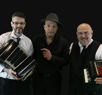 Chris Vasquez, Moshe Shulman and Ivan Docenko in Concert