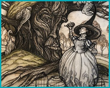 """Into the Forest: Fairytales and Folklore"" Artist: Jessica Gadra Art Gallery Exhibit"