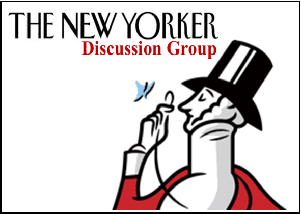 New Yorker Magazine Discussion Group - Benderson Family Building
